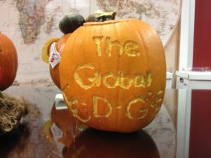 The Global Edge gets in the Halloween spirit
